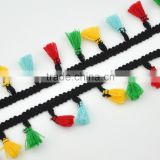 4cm new arrival cotton fringe lace trimming for decoration WTPB-036                                                                                                         Supplier's Choice