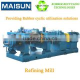reclaimed rubber making machine for waste tyre/used tires recycling production line