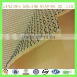 Yellow mesh fabric breaking-resistant strength used for shoe