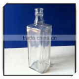 Dahua square empty wine bottles glass material DH530