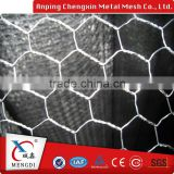 animal cage fence hexagonal flexible metal crimped wire mesh fabric