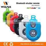 Best selling Wireless Bluetooth Shutter Controller Selfie Shutter For IPhone 5 5S 5C iPad for samsung/HTC digital camera