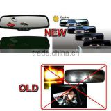 Universal Night Eye Auto Dim Rearview Mirror+Electronic Compass/Temperature Display (Free Ship By DHL+Quality Warranty One Year)