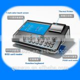 7'' Touch Screen android pos terminal with sim card printer,handheld android pos termintouch screen access control systems