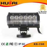 New 4d Cre e 4x4 accessories offroad led light bar 36w 7 inch led light bar                                                                         Quality Choice