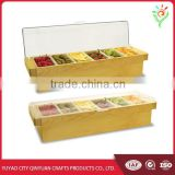 wooden condiment caddy best quality wooden condiment caddy