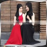 Alibaba Online Ethnic Muslim Dress Abaya for Girls