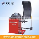 Automatic wheel balancing weight machine for tire balance with width guage LCD monitor CE approve model IT643