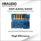 DSP - 4400 High perfermance DSP chip audio power amplifier board DSP amplifier module
