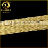 shining bling 18k gold 316 stainless steel jewelry 3mm box chain                                                                                         Most Popular