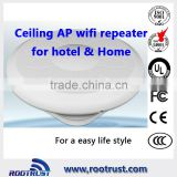 300Mbps,500mw outdoor and Indoor wifi access point with ceiling mount design and 2dBi Antenna,12V/24V Passive PoE