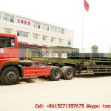 Heavy military truck lowboy Trailer 2 /3/4 axle Lowboy,lowbed semi trailer factory price sale Tom:86-15271357675
