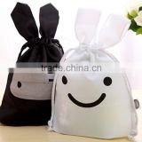 Hot sale cute rabbit animal drawstring bag china supplier                                                                                                         Supplier's Choice