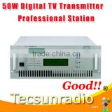 INquiry about FMUSER 518D-50W UHFDigital All Solid State wireless analog TV Signal Broadcast transmitter TV Station Equipment