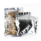 ziplock transparent pet/vmpet/pe lamination triangle sealing plastic hemp/medical marijuana/cannabis packaging bag