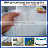 TPU film for bullet proof curtain wall solar cell laminated glass