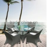 Classical wicker rattan coffee shop tables and chairs outdoor patio furniture rattan bar furniture