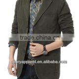 Custom slim fit men varsity jacket blazer