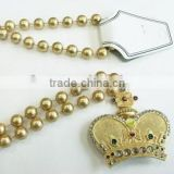 Lighted Medallion Beads With Alloy Crown (Light up Beads)