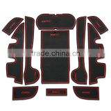 car accessories car rubber mats for Toyota Camry 2012-2015 11pcs/set