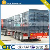 China 3 axle stake trailer for sale,truck stake semi trailer live stock fe trailernce truck tow
