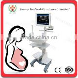SY-A038 Touch Screen Trolley Ultrasound Diagnosis B Scanner black white Ultrasound price