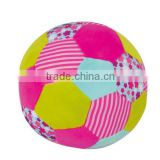 Wholesale Plush Custom Soccer Ball,Plush Soft Stuffed Ball With Bell,Plush Ball Baby Toy