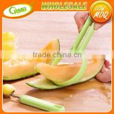 2pcs Household Gadget Kitchen Tools Peeling and Fruit Dig A Spoon Kitchen Accessories Melon Spoon Fruit Peeler