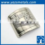 Bicycle tube badge, cusotm logo brass bike badge for tube                                                                         Quality Choice