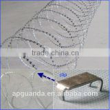 cheap concertina razor barbed wire BTO-22 used in airport, key military sites, border line, prison, government, bank