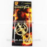 The Hunger Games Bird Logo Pin Badge Accessories Golden brooch
