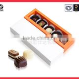 Wholesale price empty new design chocolate gift box