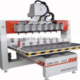 Hot sales good price 4 head cylinder cnc router engraving machine/cyllinder head machine