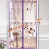 Door stripe anti-mosquito screen door in summer magnetic window covers