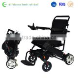 180W 10AH Folding portable electric power wheelchair