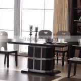2015 latest modern wooden round dining table/ philippine dining table set/ dining table designs teak wood table