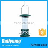 Wholesale Cheap Hanging Tube Wild bird Seed feeder