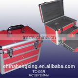 silver tool box,tool case,hard case tool suitcase with drawers,tool case,hard case tool box