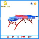 table tennis table with wheel ping pong table outdoor school gym equipment