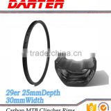 Scientific design no deformation good stability 29er 16-36H chinese carbon mtb bike rims