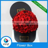 Hot stamping paper tube,round&square cardboard flower packaging box