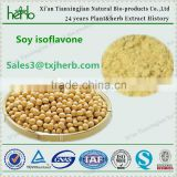 Factory Supply100% organic Soybean Extract powder 20% 40% Soy Isoflavones