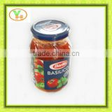 70g-4500g double concentrated tomato paste in the glass jar