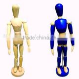 Color wooden manikin for drawing