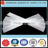 free sample plastic sheet used in lamp street light for LED light