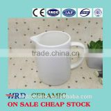 Stocked Hot selling ceramic pot/milk pot/sugar pot
