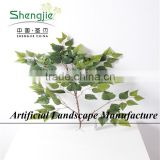 Decorative Flowers & Wreaths Type and Private home,office,hotel,restaurant,public places Occasion artificial ficus leaves