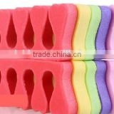 Wholesale Disposable Colorful EVA Silicone Nail Toe Separator
