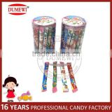 Fruit Flavor Sour Chewy Milk Candy PVC Jar Package