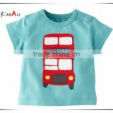 2016 wholesale cotton kids t shirt safety high visibility o neck t shirt cheap closeout